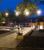 LED-Aussenbeleuchtung Parkplatzbeleuchtung Objektbeleuchtung